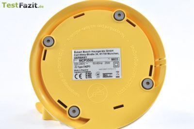 Bosch MCP3500 Zitruspresse im Test