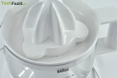 Braun CJ 3000 Tribute Collection Zitruspresse im Test