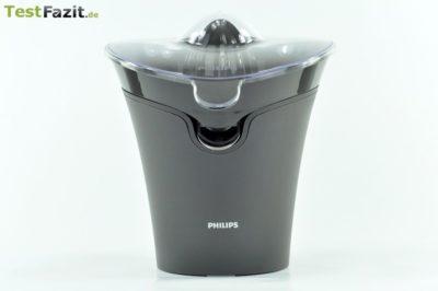 Philips HR 2752/90 Zitruspresse Essential Testbericht