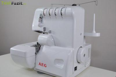 Overlock-Nähmaschine: AEG 760 Overlockmaschine Test