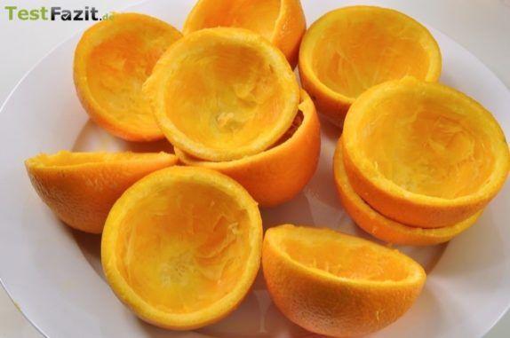 Ausgepresste Orangen