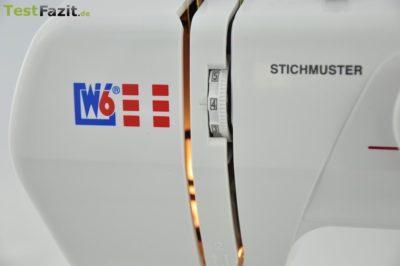 W6 Nähmaschine N 1615 Freiarm Super Nutzstich-Nähmaschine
